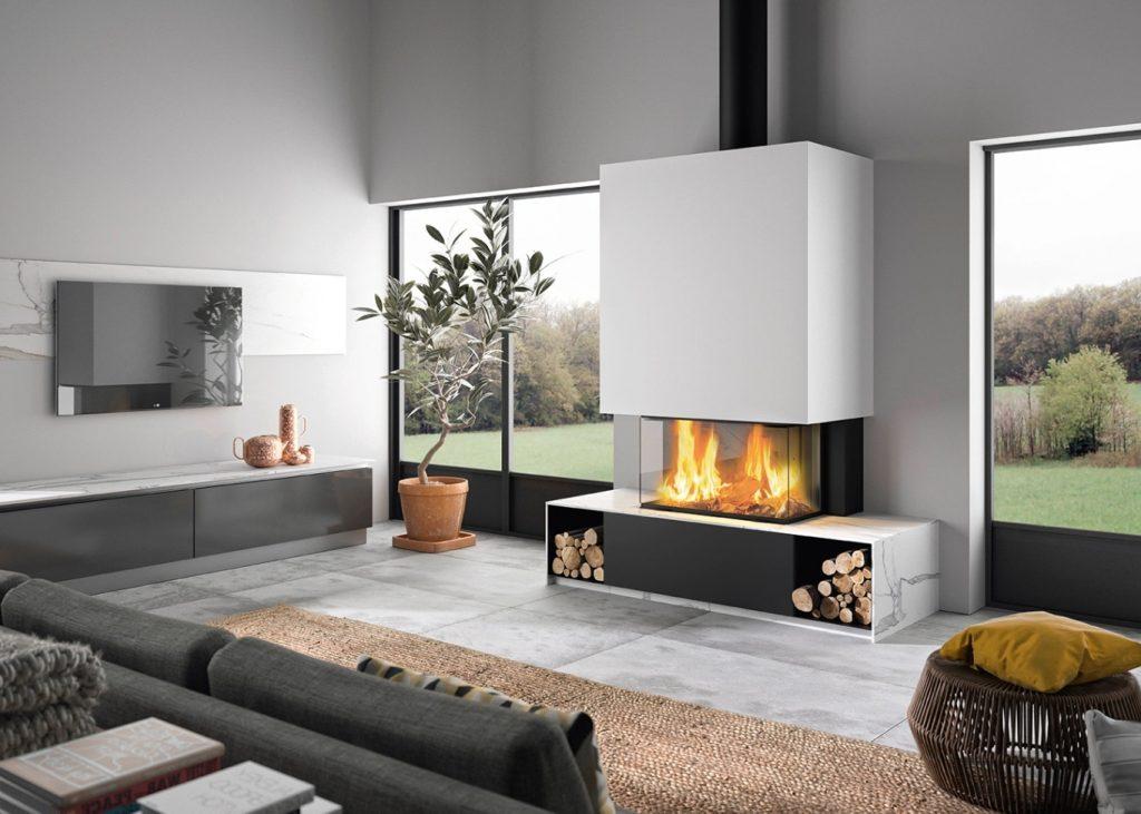 spécialiste cheminée bois à Pau